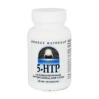 Source Naturals 5-HTP L-5-hydroxytryptophan 50 mg capsules - 60 ea