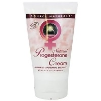 Source Naturals Progesterone natural cream - 4 oz