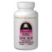 Source Naturals Alpha lipoic acid 100 mg capsules - 30 ea
