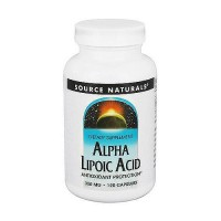 Source Naturals Alpha lipoic acid 300 mg tablets - 120 ea