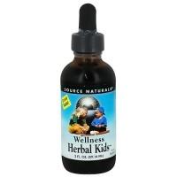 Wellness herbal kids liquid supplement for immune support - 2 oz