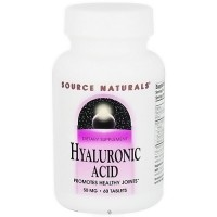 Source Naturals Hyaluronic acid 50 mg tablets promotes healthy joints - 60 ea