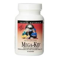 Source Naturals Mega kid chewable multi vitamin wafers - 30 ea