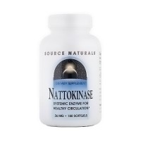 Nattokinase 33 mg softgels for healthy circulation - 180 ea