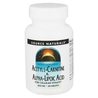 Source Naturals Acet L-Carnitine and Alpha Lipoic Acid - 60 Tablets
