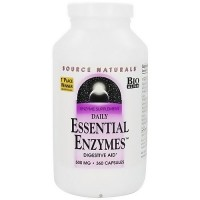 Source Naturals Essential enzymes digestive aid 500 mg capsules  - 360 ea