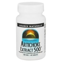 Source Naturals Artichoke extract 500 mg tablets - 45 ea