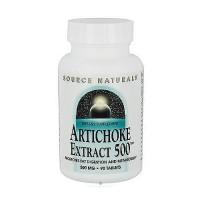 Source Naturals Artichoke extract 500 mg tablets - 90 ea