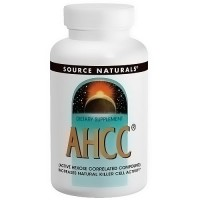 Source Naturals AHCC (Active hexose correlated compound) 500 mg capsules - 30 ea