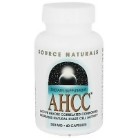 Source Naturals AHCC Active Hexose Correlated Compound - 60 Capsules