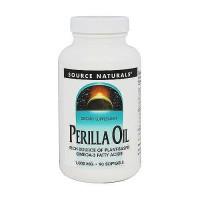Source Naturals Perilla oil omega-3 1000 mg softgels - 90 ea