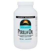 Source Naturals Perilla oil 1000 mg softgels - 180 ea