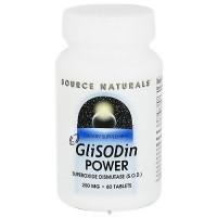 Source Naturals Glisodin power superoxide dismutase SOD 250 mg tablets - 60 ea