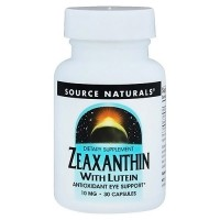 Source Naturals Zeaxanthin with Lutein 10 mg capsules - 30 ea