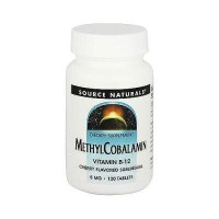 Source Naturals Methylcobalmin vitamin B-12 5 mg tablets, cherry flavoured - 120 ea