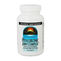 Hyaluronic joint complex with glucosamine chondroitin and msm tablets, 60 ea