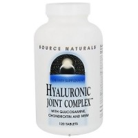 Hyaluronic joint complex tablets with glucosamine, chondroitin and MSM, 120 ea