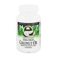 Source Naturals extra virgin Coconut oil softgels - 60 ea
