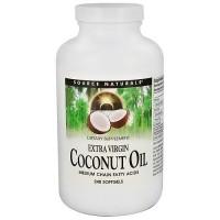 Extra virgin coconut oil 1000mg softgels, medium chain fatty acids - 240 ea