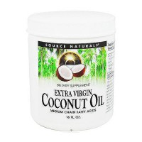 Extra virgin coconut oil, medium chain fatty acids - 16 oz