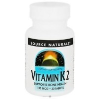 Source Naturals Vitamin k2 100 mcg tablets - 30 ea