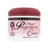 Source Naturals Progesterone natural advanced liposomal delivery cream - 4 oz