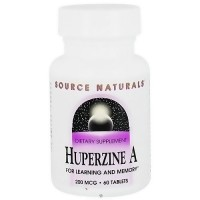 Source Naturals Huperzine for learning and memory tablets - 60 ea