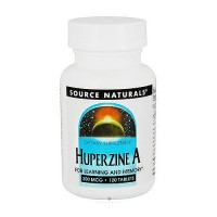 Huperzine A 200 mcg tablets for learning and memory, 120 ea