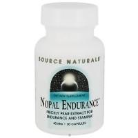 Source Naturals Nopal endurance 40 mg capsules - 30 ea