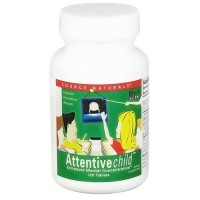 Source Naturals Attentivechild tablets for mental concentration - 120 ea