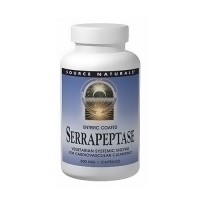 Source Naturals Serrapeptase 500 mg Vegetarian Capsules - 30 ea