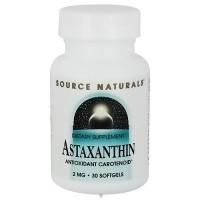 Source Naturals Astaxanthin antioxidant carotenoid 2 mg softgels - 30 ea