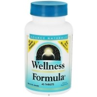 Source Naturals Wellness formula herbal defense tablets - 45 ea