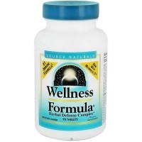 Source Naturals Wellness formula herbal defense complex tablets- 90 ea