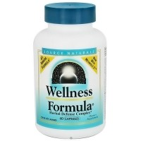 Source Naturals Wellness formula herbal defense capsules c.a formula - 60 ea