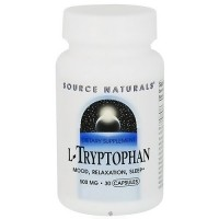 Source Naturals L-Tryptophan 500 mg Capsules - 30 ea
