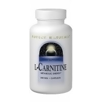 Source Naturals L-Carnitine 250 mg capsules - 60 ea