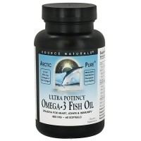 Source Naturals Arctic Pure Ultra Potency Omega-3 Fish Oil - 60 Softgels