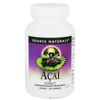 Source Naturals Acai Extract 500 mg - 120 Capsules