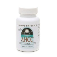 Source Naturals AHCC (Active hexose correlated compound) 500 mg capsules - 60 ea