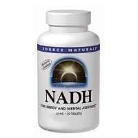 Source Naturals NADH 10 mg tablets - 20 ea