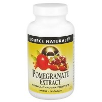 Source Naturals Pomegranate extract 500 mg tablets - 240 ea