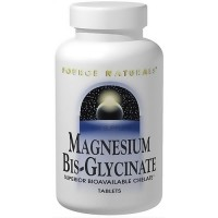 Magnesium Bis-Glycinate superior bio-available chelate tablets, 120 ea
