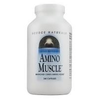 Source Naturals Amino muscle BCAA capsules - 240 ea