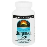 Source Naturals Ubiquinol Co QH 100 mg - 90 Softgels