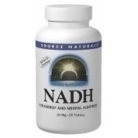 Source Naturals NADH 20 mg tablets - 20 ea
