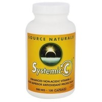 Source Naturals Systemic C 500 mg  - 120 Capsules
