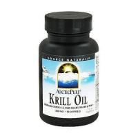 Source Naturals ArcticPure krill oil omega-3 500mg softgels - 30 ea
