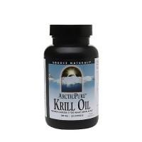 Source Naturals ArcticPure krill oil omega-3 500mg softgels - 120 ea