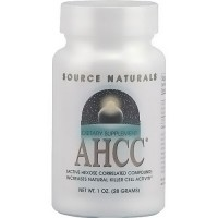 Source Naturals AHCC (Active Hexose Correlated Compound) 500 mg powder - 1 oz